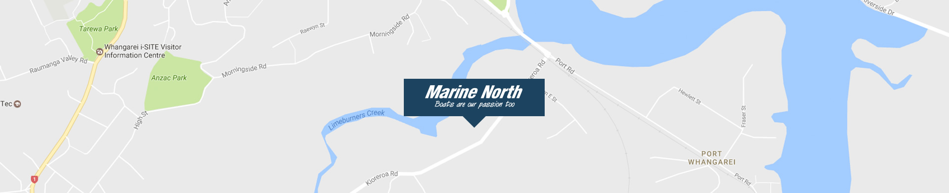 location marine north