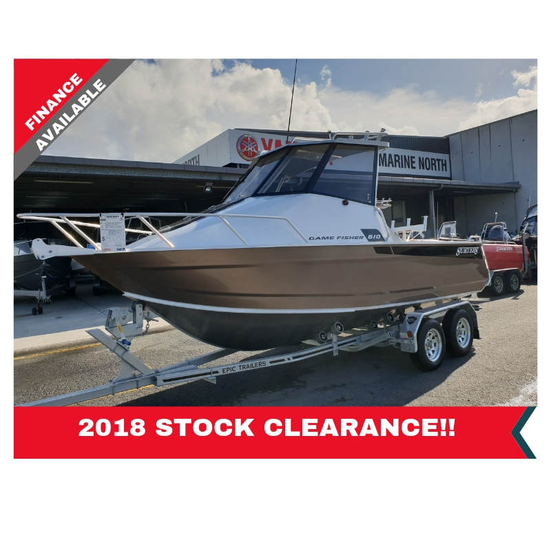 2018 Surtees 610 Game Fisher Stock Clearance Marine